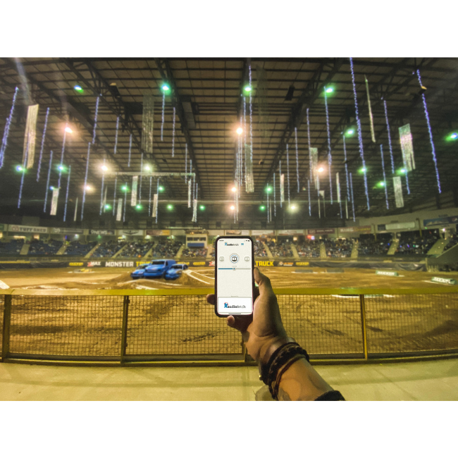 AudioFetch App at Stadium
