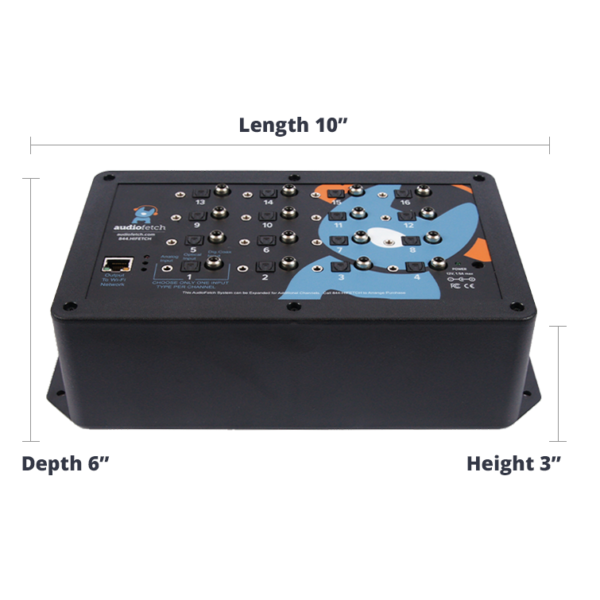 AudioFetch WiFi Audio Streaming System