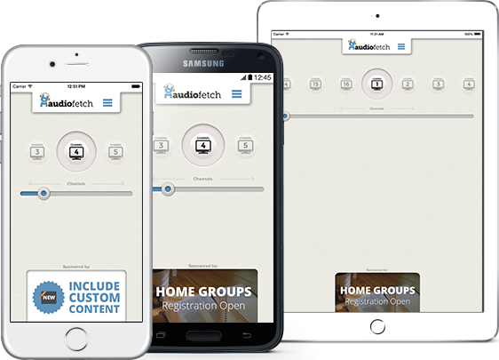 AudioFetch App Customization for Churches & Houses of Worship