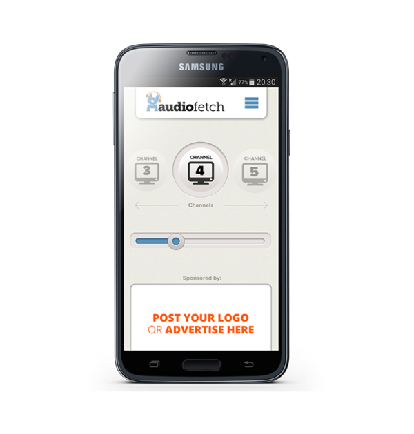 AudioFetch App Customization - In-App Ads Android