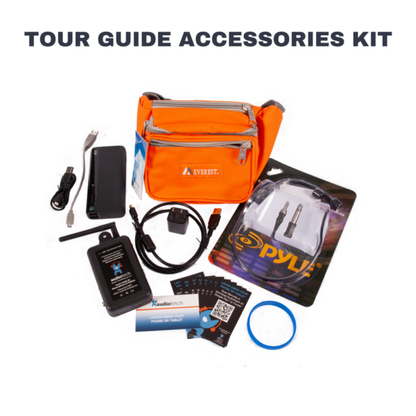 FetchExpress Tour Guide Accessories Kit - AudioFetch