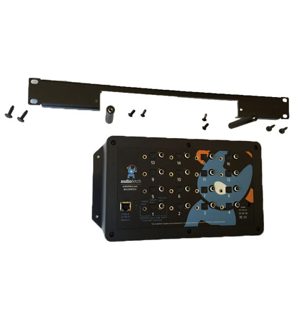 AudioFetch Rack Mount Rails