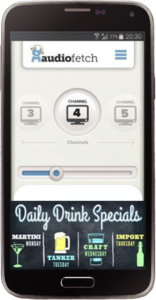 AudioFetch Ads for Sports Bars