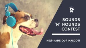 Sounds n Hounds Contest Blog Header