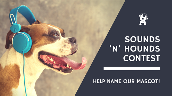 Sounds n Hounds Contest Blog Header