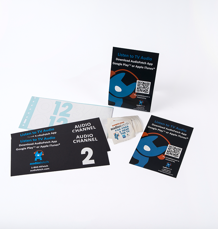 audiofetch marketing collateral - AudioFetch