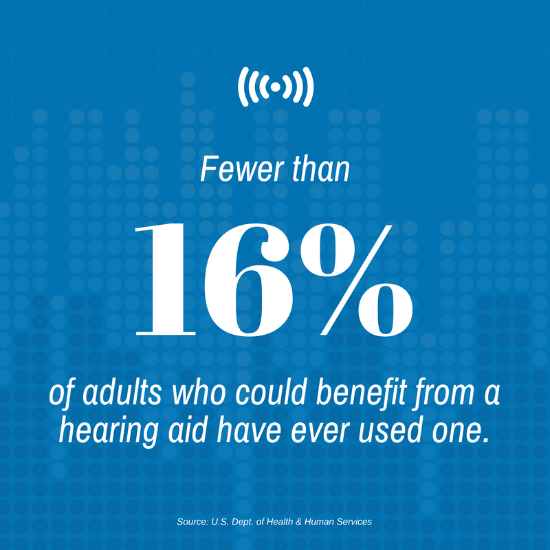 AudioFetch Blog 16 of Adults Dont Use Hearing Aid - AudioFetch Audio Over WiFi