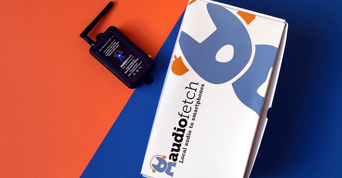 AudioFetch Blog Header - FetchExpress Product & Box