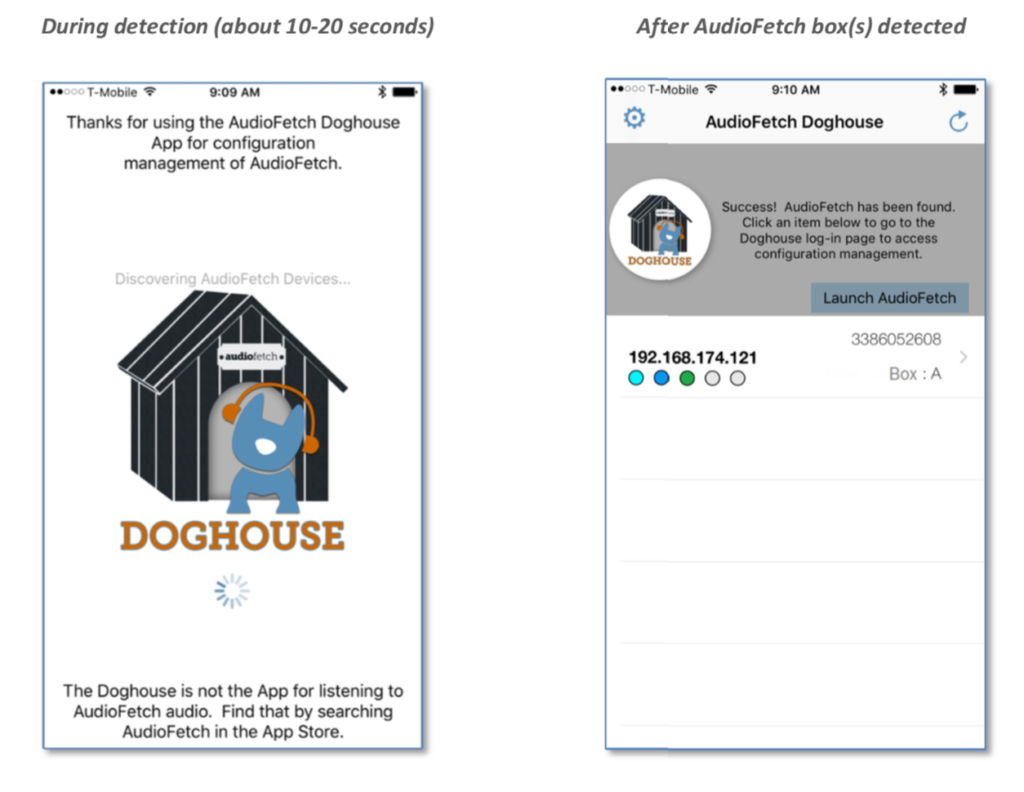 AudioFetch Doghouse Apple