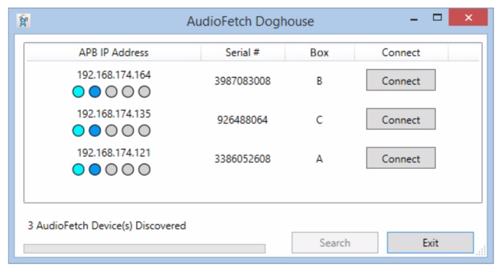 AudioFetch Doghouse Boxes