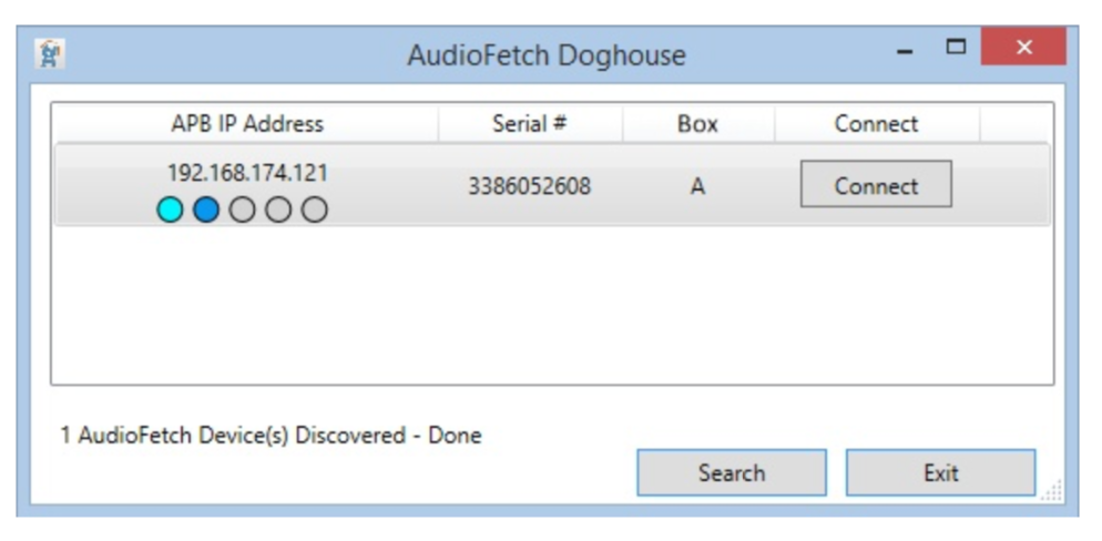 AudioFetch Doghouse Windows
