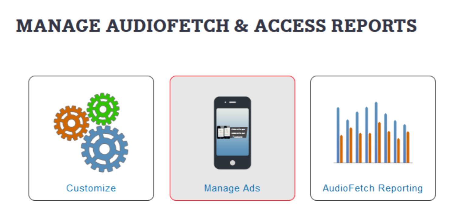 AudioFetch App Customization Portal
