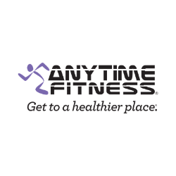 Anytime Fitness Logo - AudioFetch Audio Over WiFi