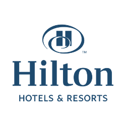 Hilton Hotels Logo - AudioFetch Audio Over WiFi