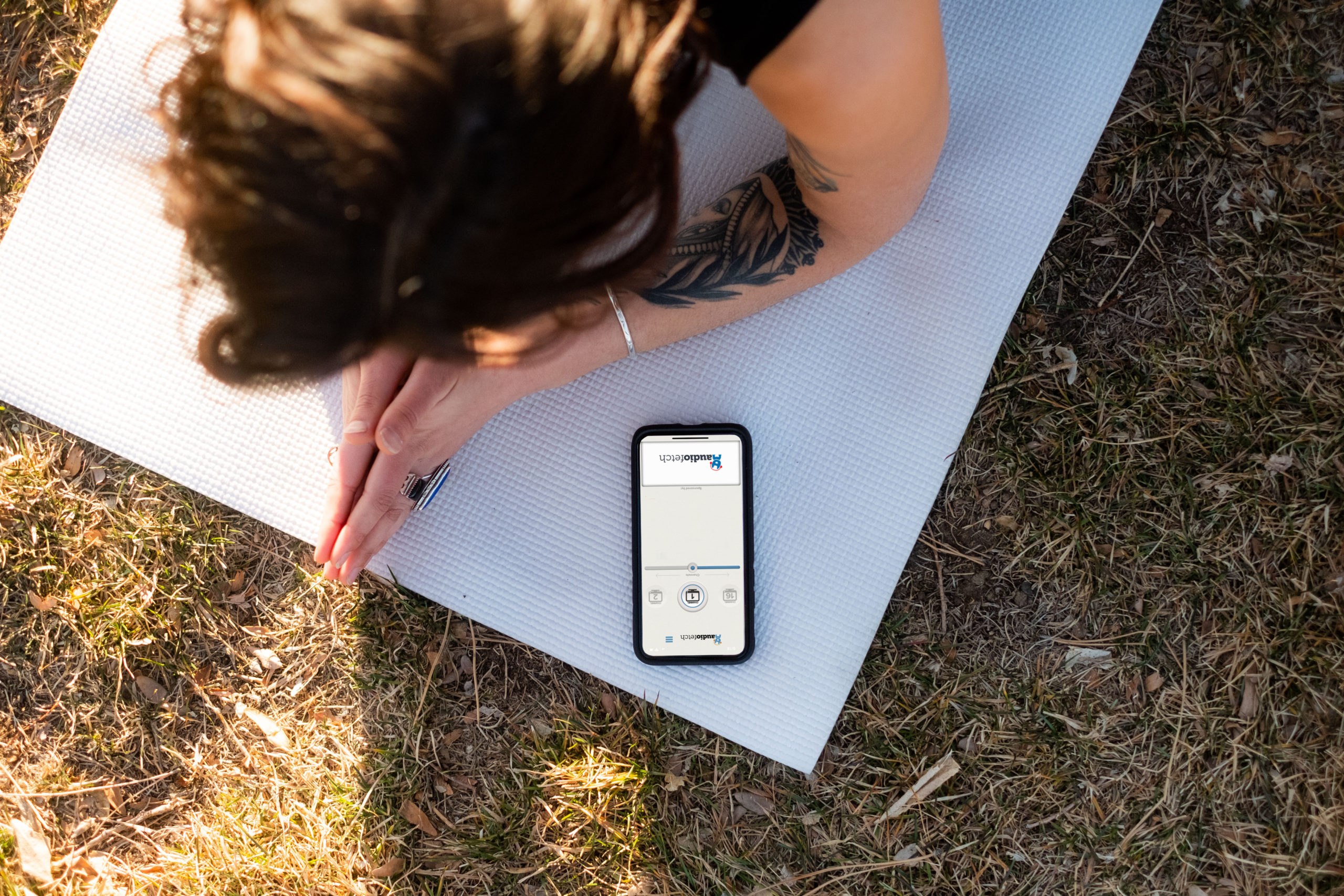 AudioFetch App Outdoor Fitness
