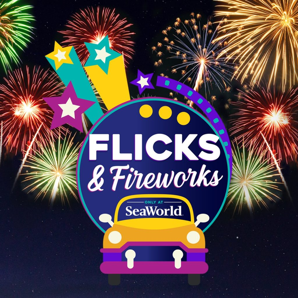 SeaWorld Fireworks Flicks - AudioFetch Audio Over WiFi