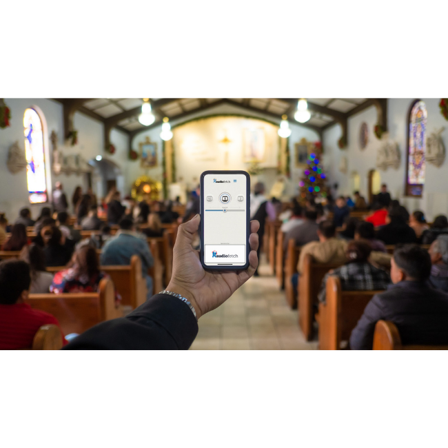 AudioFetch App - Church Assistive Listening Device