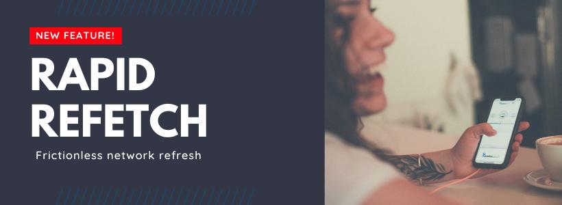 AudioFetch Rapid ReFetch App Feature