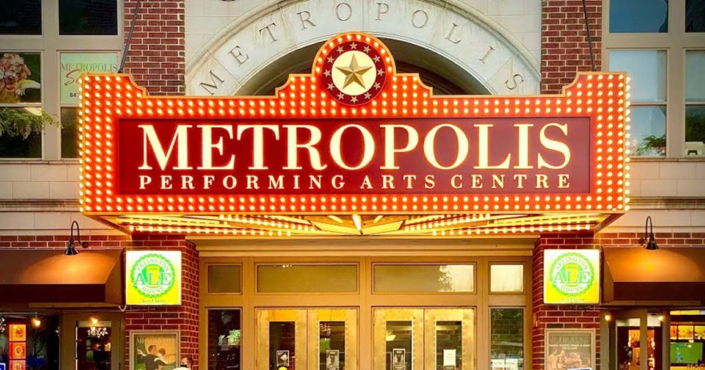 Metropolis Performing Arts Centre front FB - AudioFetch Audio Over WiFi